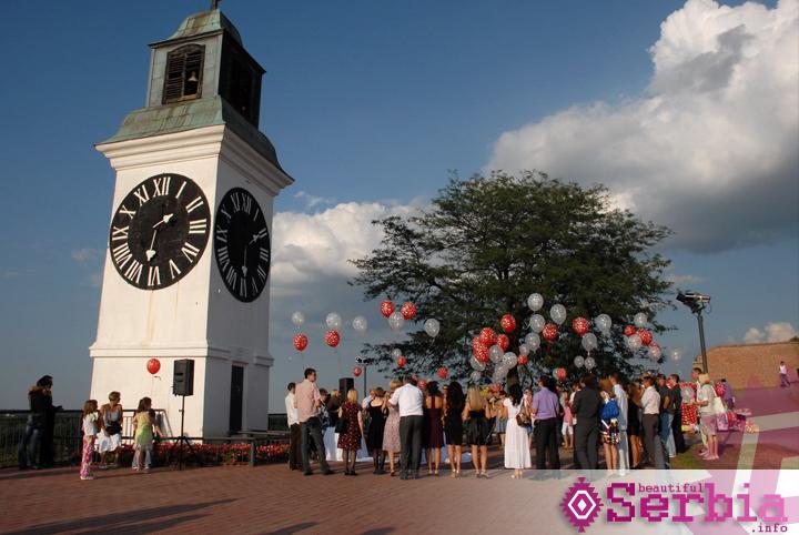 novi sad Petrovaradin fortress   magical place for love, Novi Sad