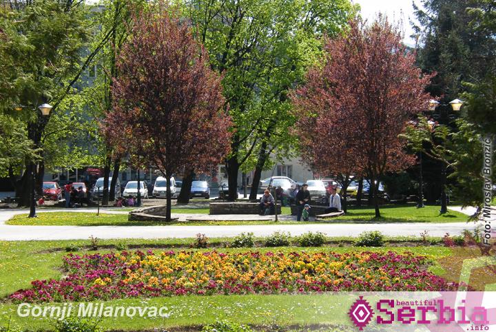 gradski park milanovac Gornji Milanovac