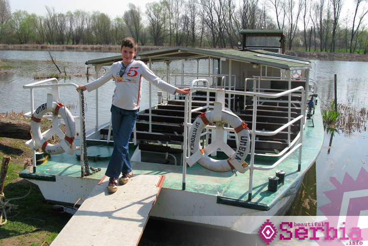 brod umbria Zasavica (i Sremska Mitrovica)