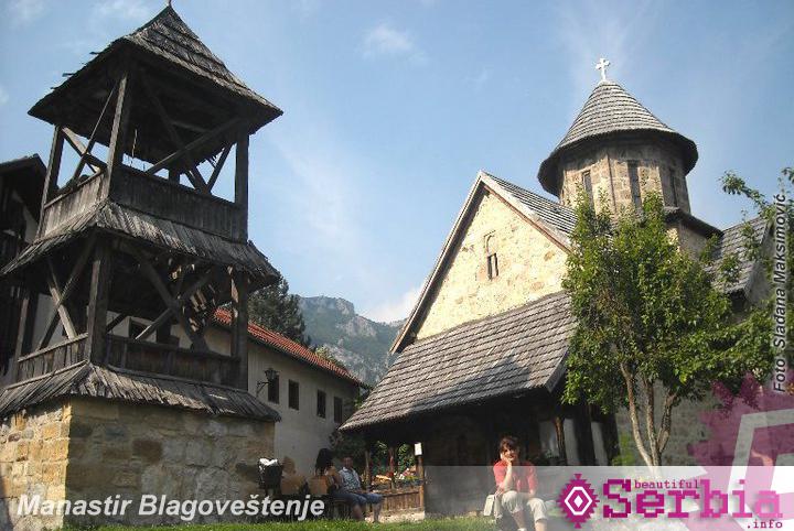 manastir blagovestenje Ovčarsko – Kablarska klisura