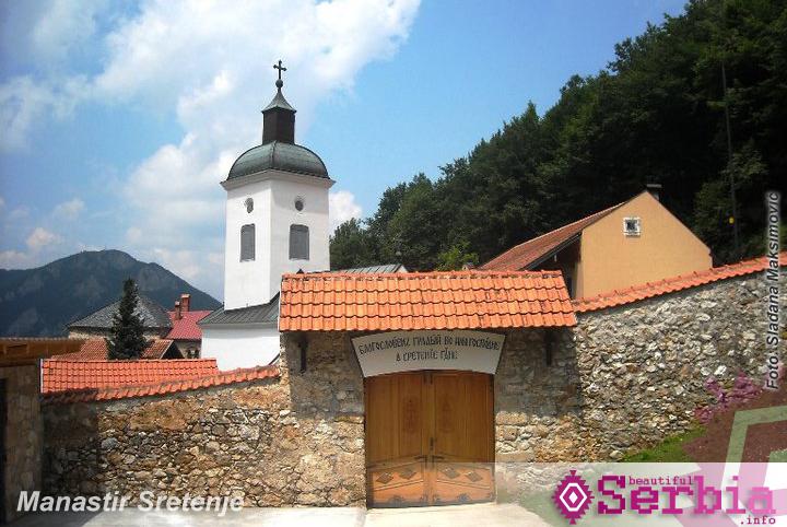 manastir sretenje Ovčarsko – Kablarska klisura