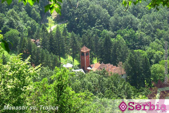 manastir sv trojice Ovčarsko – Kablarska klisura