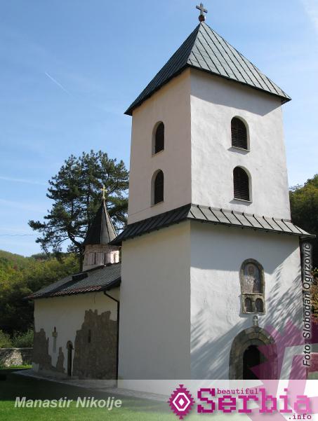 nikolje manastir ŠVRLjANjE PO RUDNIČKOM KRAJU