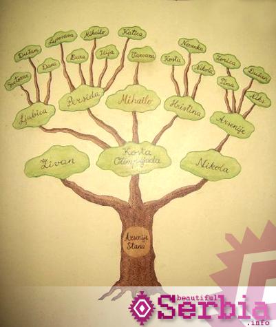 pupin porodicno stablo Selo Idvor, Mihajlo Pupin