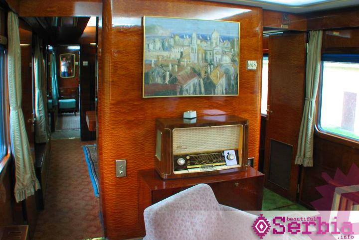 slika1 Plavi voz, luksuz u stilu Josipa Broza