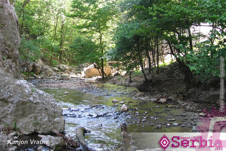 kanjon vratne Istočna Srbija (prvi deo)