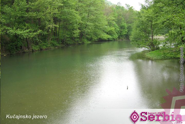 kucajnsko jezero Istočna Srbija (prvi deo)