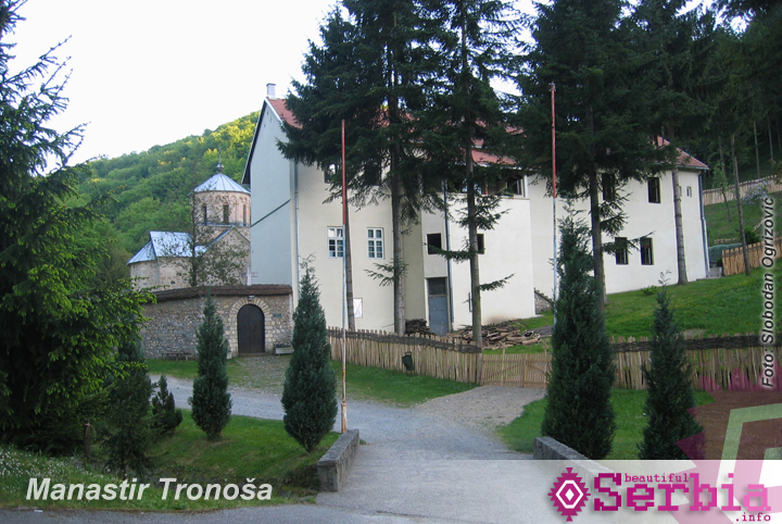 manastir tronosa Putovanje Tara   Beograd, okolo naokolo (drugi deo)