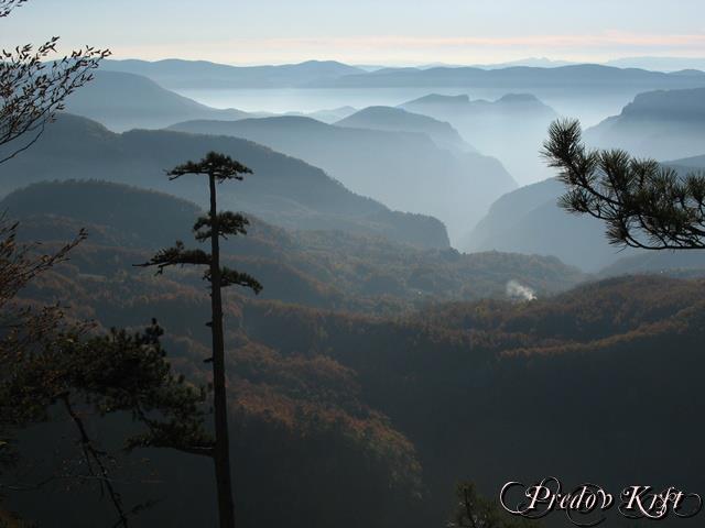 Planina tara Predov Krst, planina Tara
