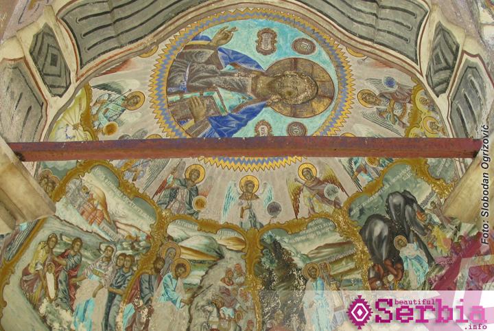 hilandar freske krstionica Hilandar