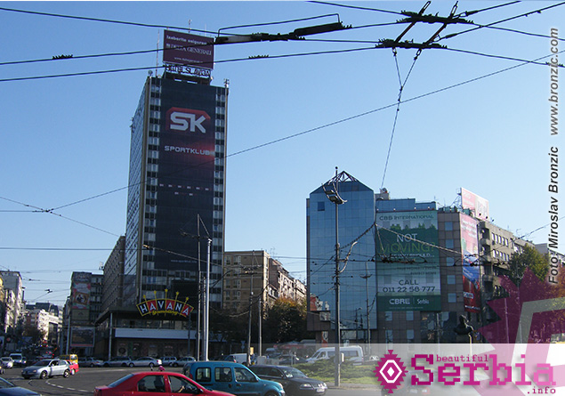 hoteli slavija Razgledanje Beograda