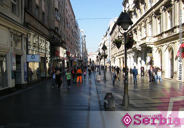 knez mihajlova Razgledanje Beograda