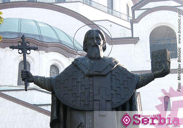 spomenik svetom savi Razgledanje Beograda