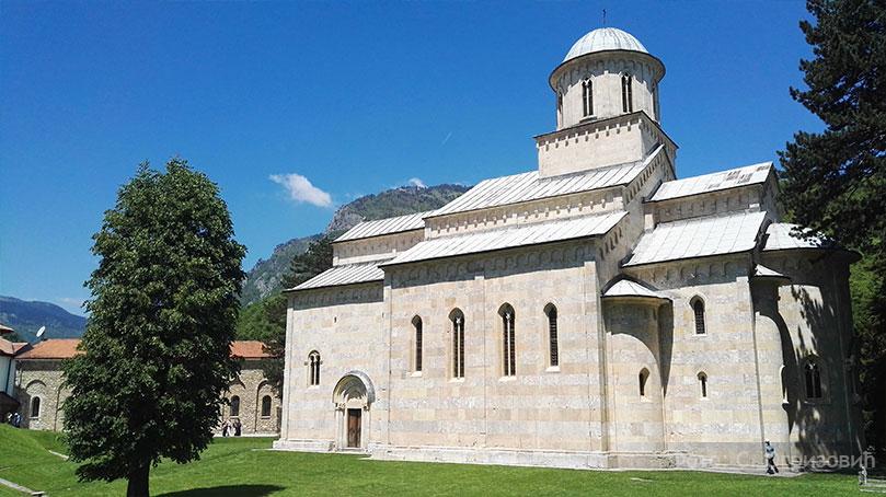 """manastir decani Косово и Метохија 2016: """"Зеница ока мога гнездо је лепоти твојој"""""""